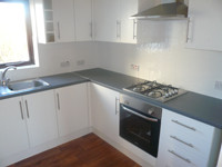 Kitchen, Fitting Process of After - CRM Contractors