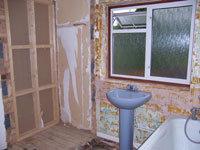 Bathroom, Refurbishment Stage 3 - CRM Contractors