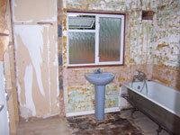 Bathroom, Refurbishment Stage 4 - CRM Contractors