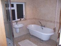 Bathroom, Refurbishment Stage 5 - CRM Contractors